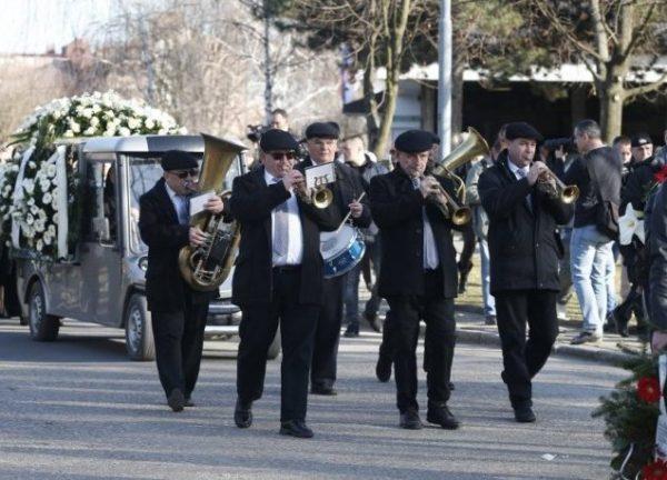 Sahrana Karleuša 06.03.2019. muzika za sahrane pogreb