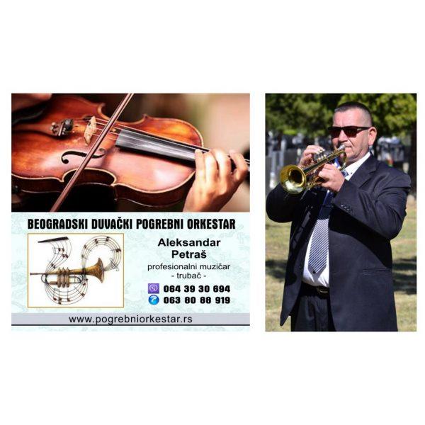 Solo trubac ili violina za sahranu