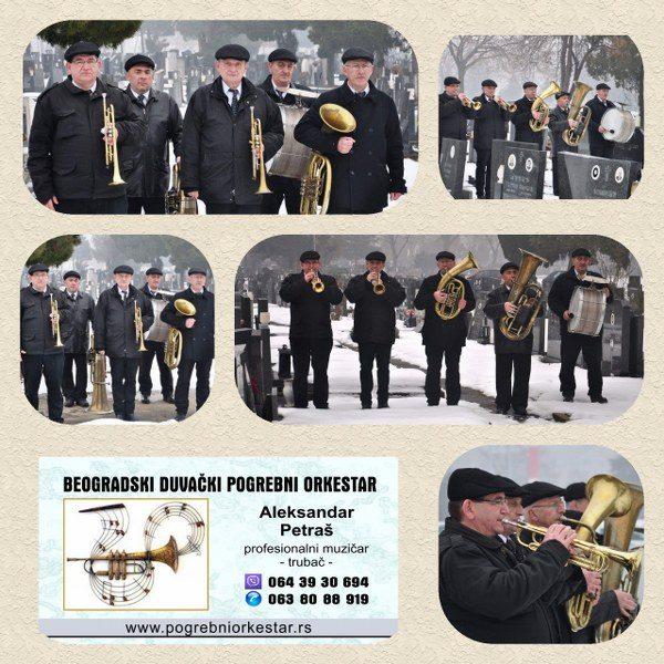 pogrebni orkestar za pomen Beograd